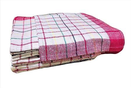 AA TEX - Paños de cocina (50 x 70 cm) – Paños de cocina de algodón, calidad profesional, multicolor, paños de cocina de algodón, super absorbentes: Amazon.es: Hogar