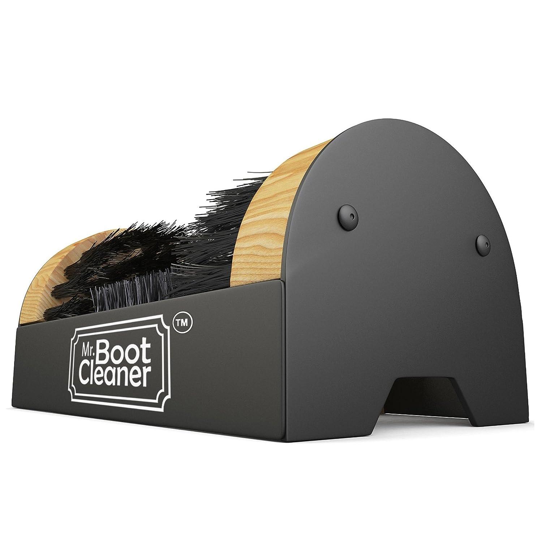 Boot Brush Cleaner Floor Mount Scraper Commercial With Hardware Indoor / Outdoor SYNCHKG061282