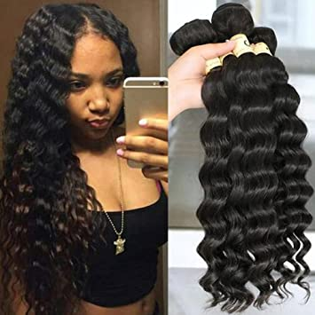 Awesome Amazon Com Qthair 10A Peruvian Loose Deep Wave Hair 14 16 18 Schematic Wiring Diagrams Amerangerunnerswayorg