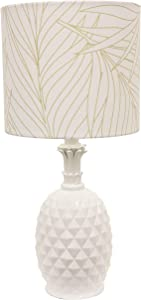 Décor Therapy TL17212 Table lamp, White