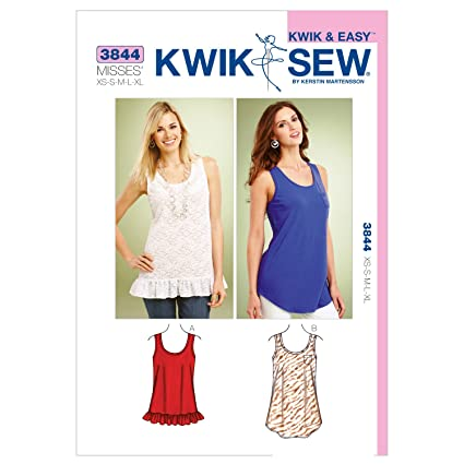 Amazon Kwik Sew K3844 Tops Sewing Pattern Size Xs S M L Xl