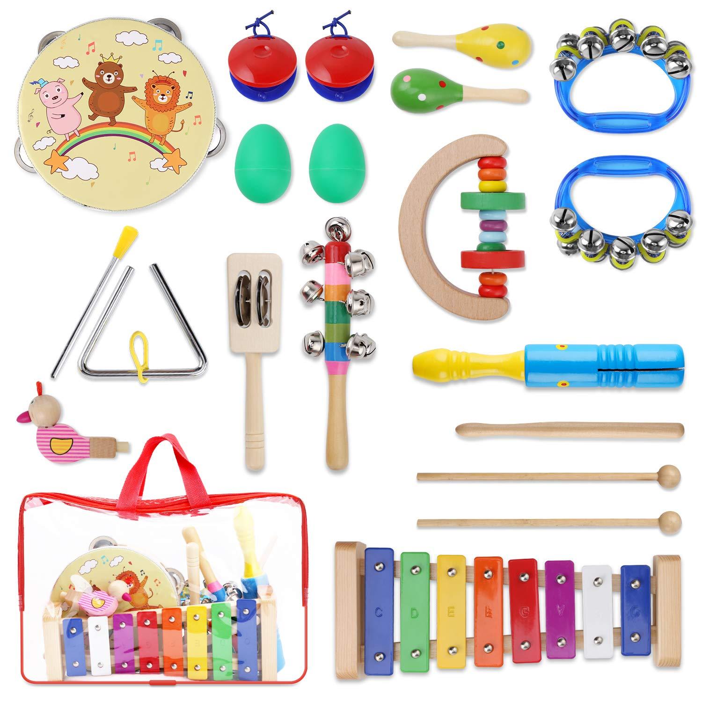 YISSVIC Juguetes de Instrumentos Musicales para Niños 13 en 1 product image