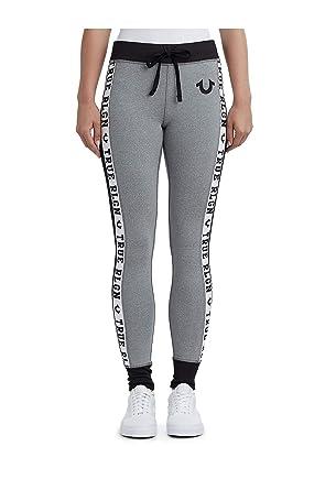 e802d278c0e0d Amazon.com: True Religion Women's Colorblock Skinny Leggings Activewear  Pants: Clothing