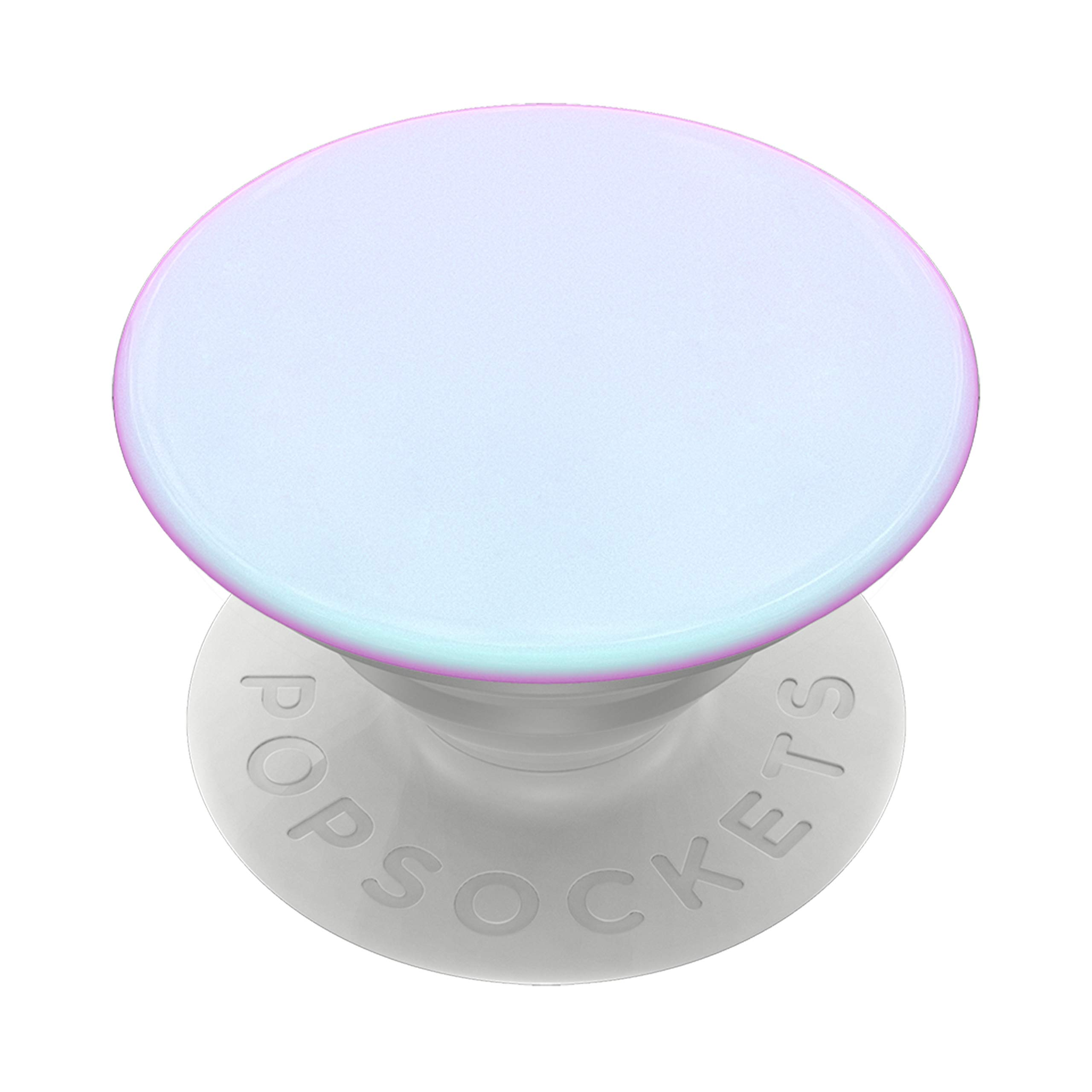 PopSockets PopGrip: Swappable Grip for Phones & Tablets - Color Chrome Mermaid White by PopSockets