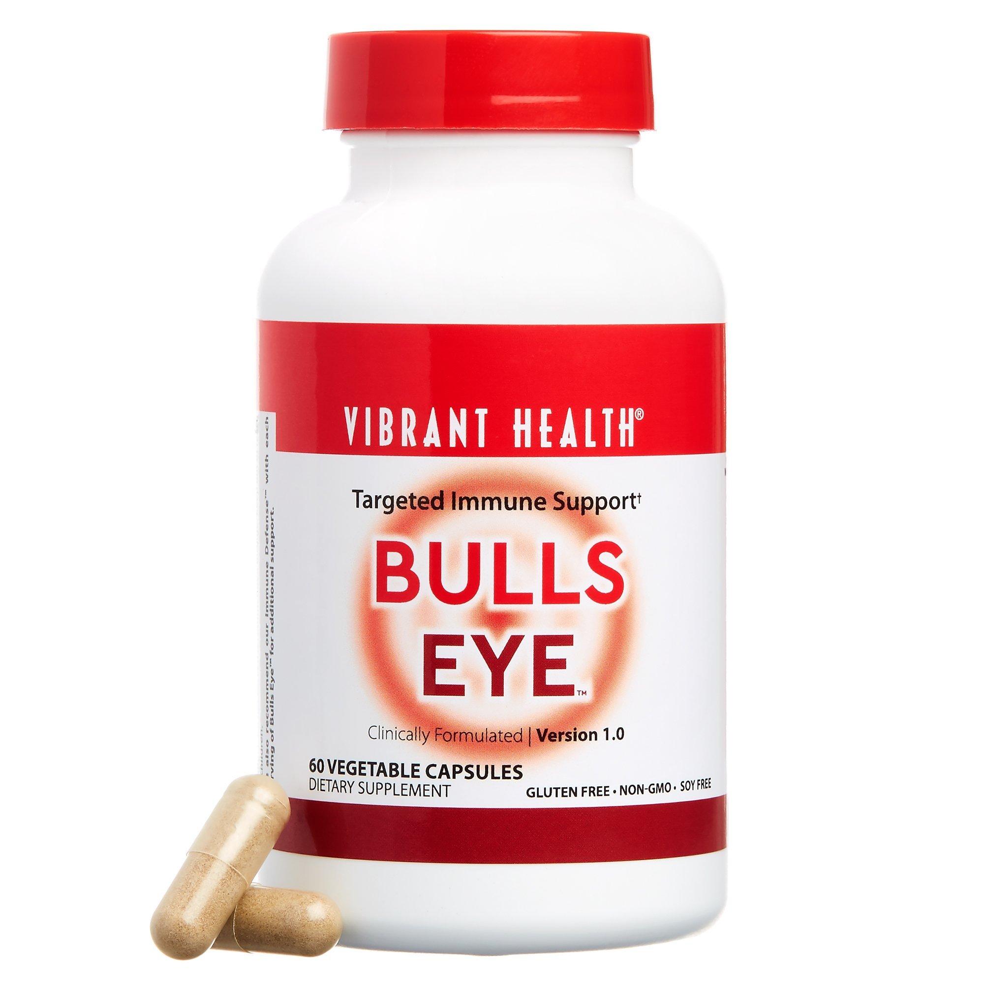 Vibrant Health- Bulls Eye, Targeted Immune Support, 60 Capsules