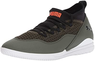 promo code 7de3c 62d6d PUMA Unisex 365 FF 3 CT Jr Soccer Shoe, Forest Night Black White, 1