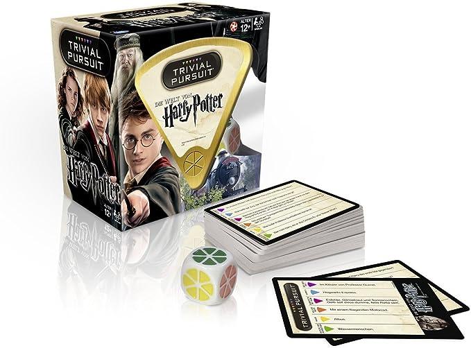Winning Moves Trivial Pursuit Harry Potter Juegos de Preguntas Niños y Adultos - Juego de Tablero (Juegos de Preguntas, Niños y Adultos, 12 año(s), Alemán, 100 Pieza(s), Interior): Amazon.es: Juguetes y juegos
