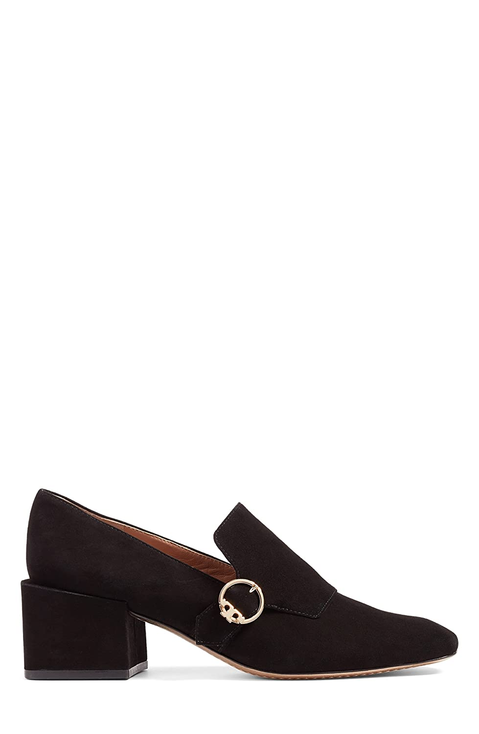 4652cb09fd2 Tory Burch Womens Tess Loafer Leather Square Toe Loafers Black Size 6.0   Amazon.ca  Shoes   Handbags