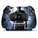 Controller Gear Officially Licensed Uncharted 4 A Thief's End - PS4 Controller and Controller Stand Skin Set