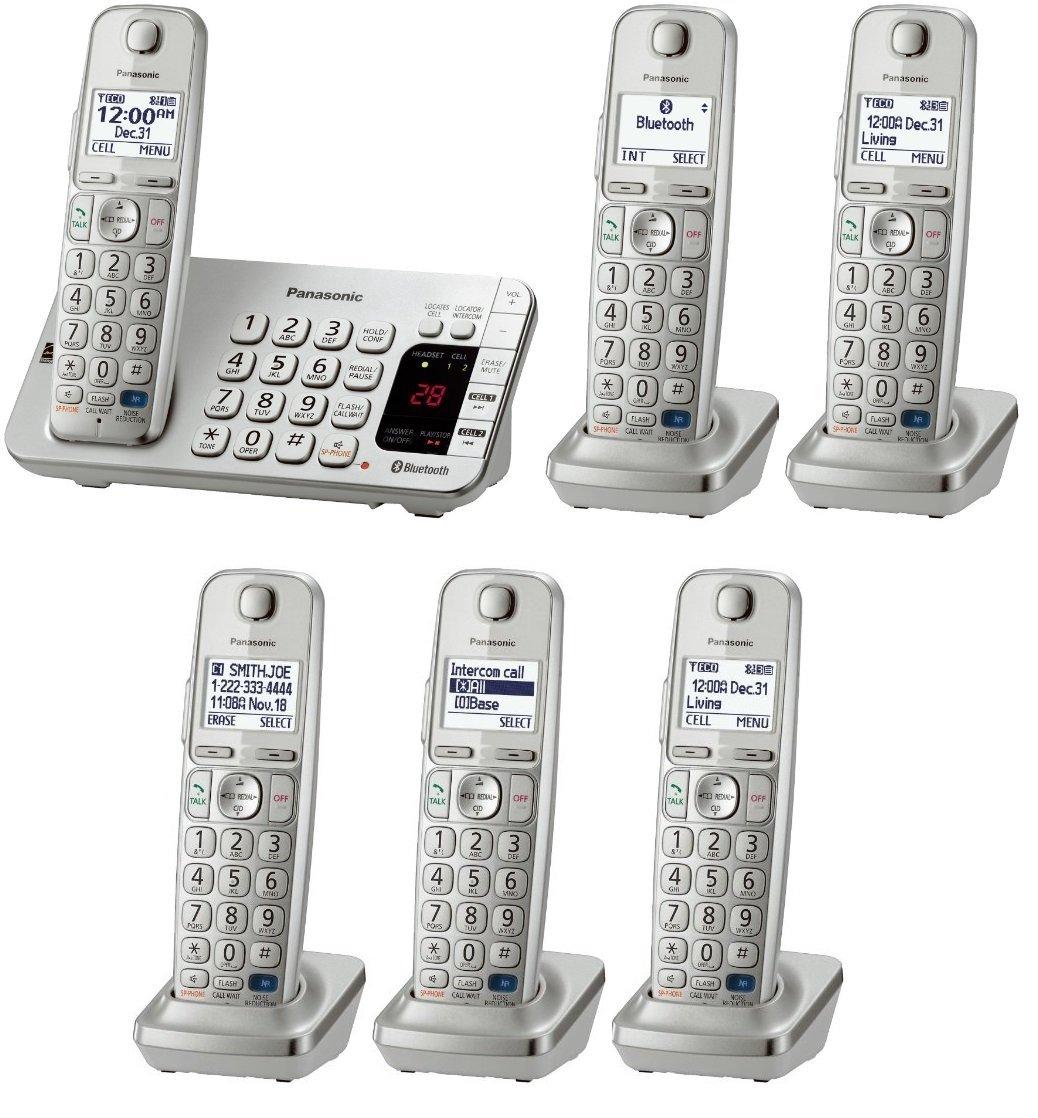 Amazon.com: Panasonic kx-tge275s + 1 kx-tgea20s Handset (6 ...