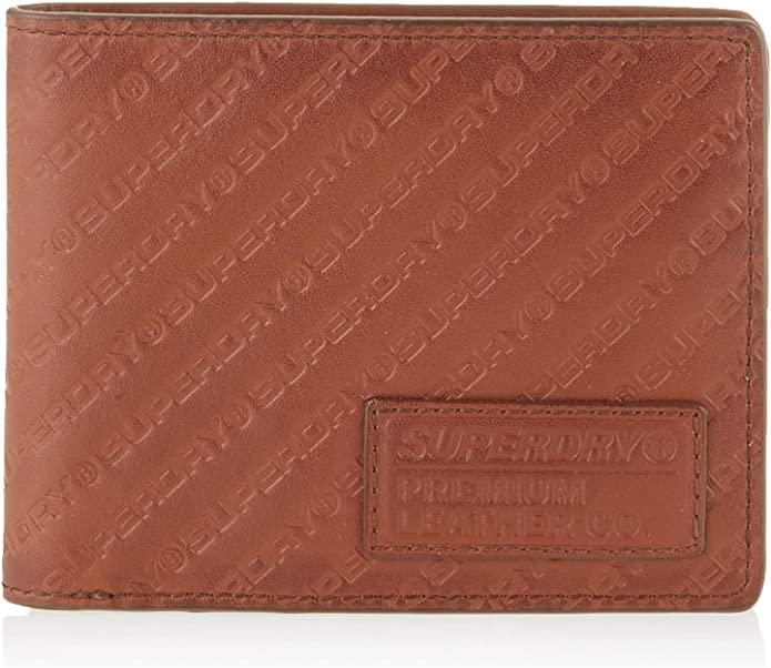 portefeuil superdry profile wallet in a tin