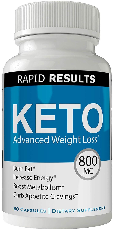Rapid Results Keto Diet Pills Advanced Weight Loss 800 Mg Formula Pills With Bhb Salts