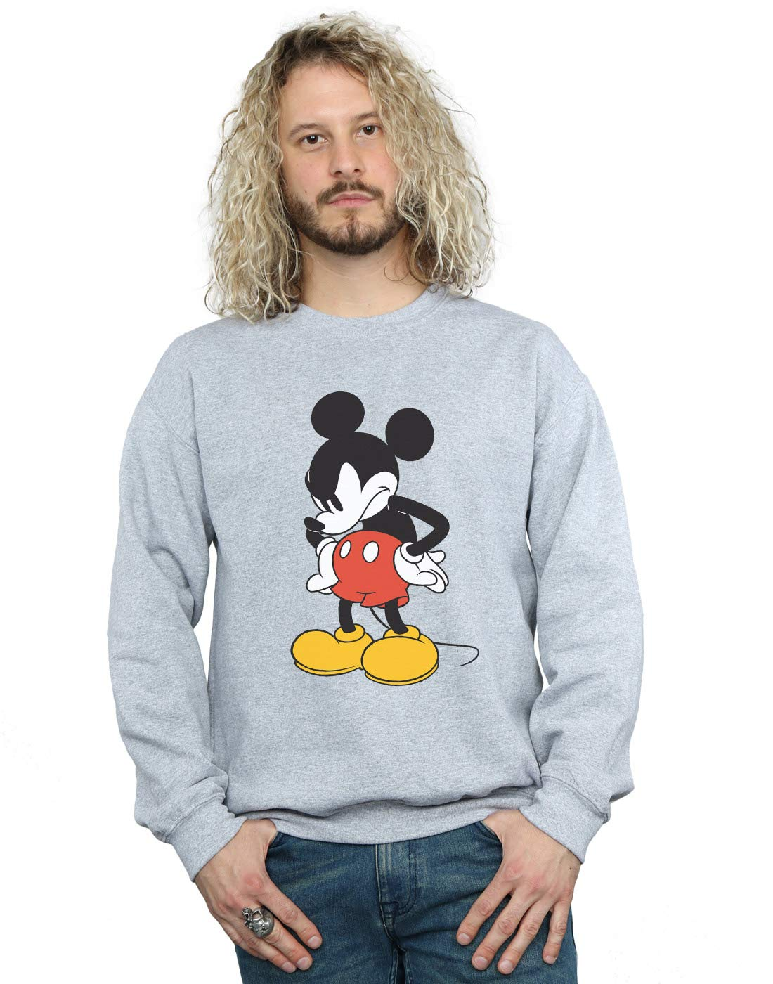 Disney S Mickey Mouse Angry Look Down Shirts