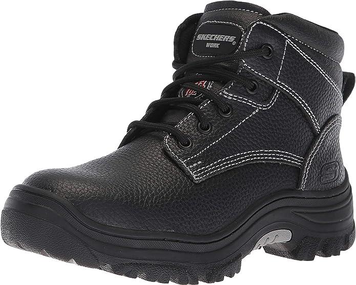Cenar Asado Adición  Amazon.com: Skechers Burgin-Krabok - Botas de trabajo para mujer: Shoes