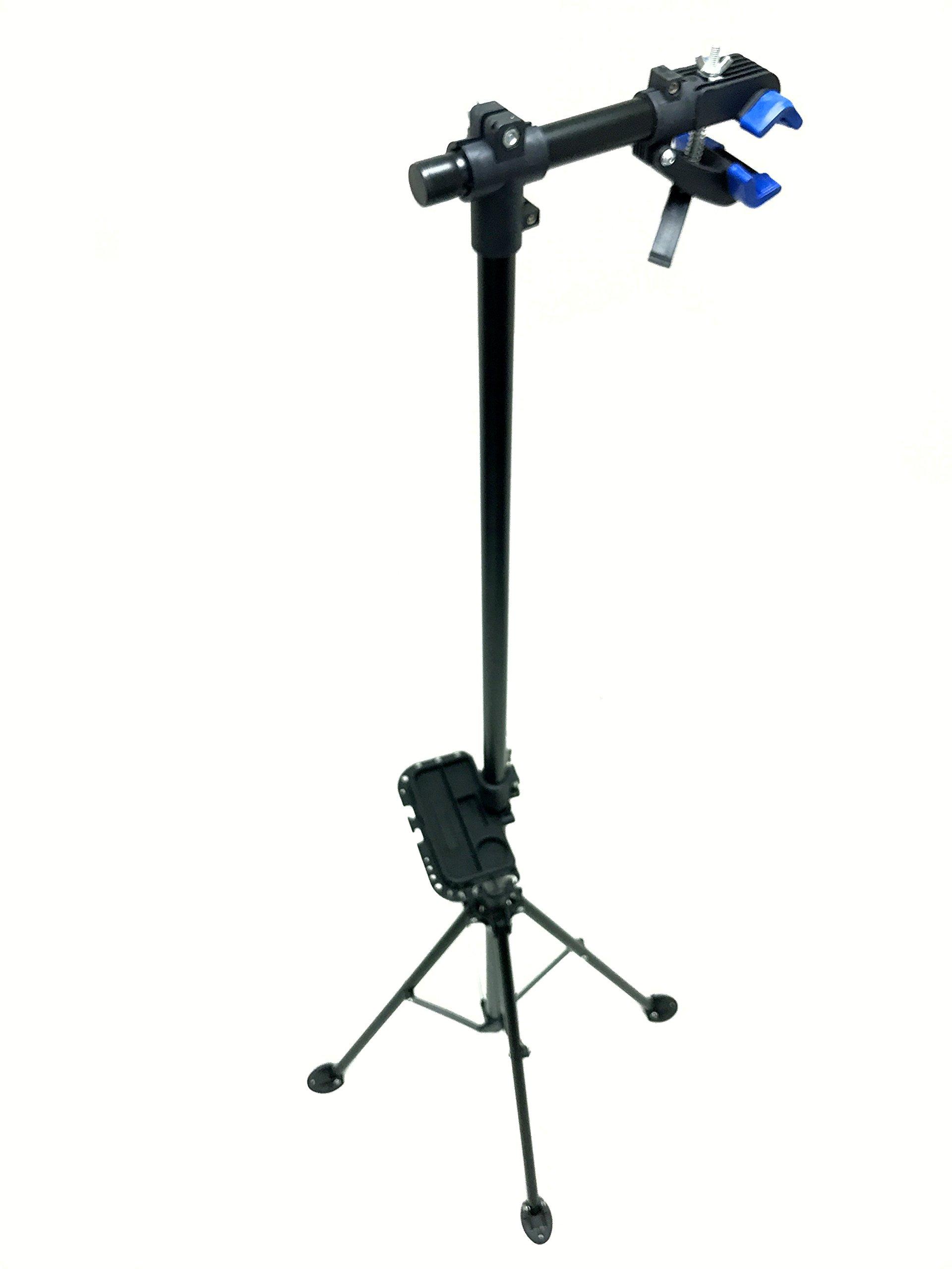 MaxxHaul 80725 Bike Repair Stand/Display with Adjustable Height & 360 Deg. Rotating Head Clamp by MaxxHaul (Image #1)