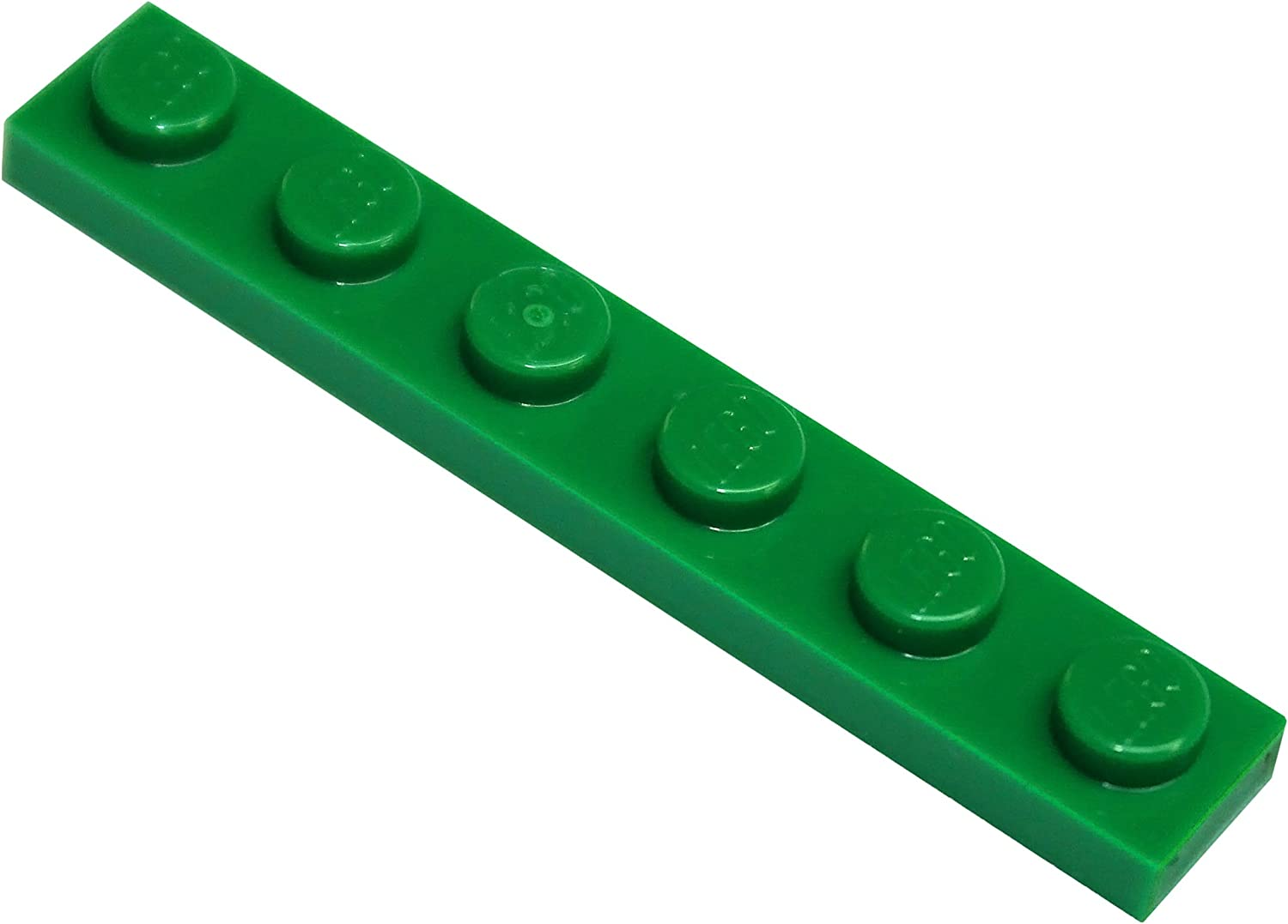 LEGO Parts and Pieces: Green 1x6 Plate x200