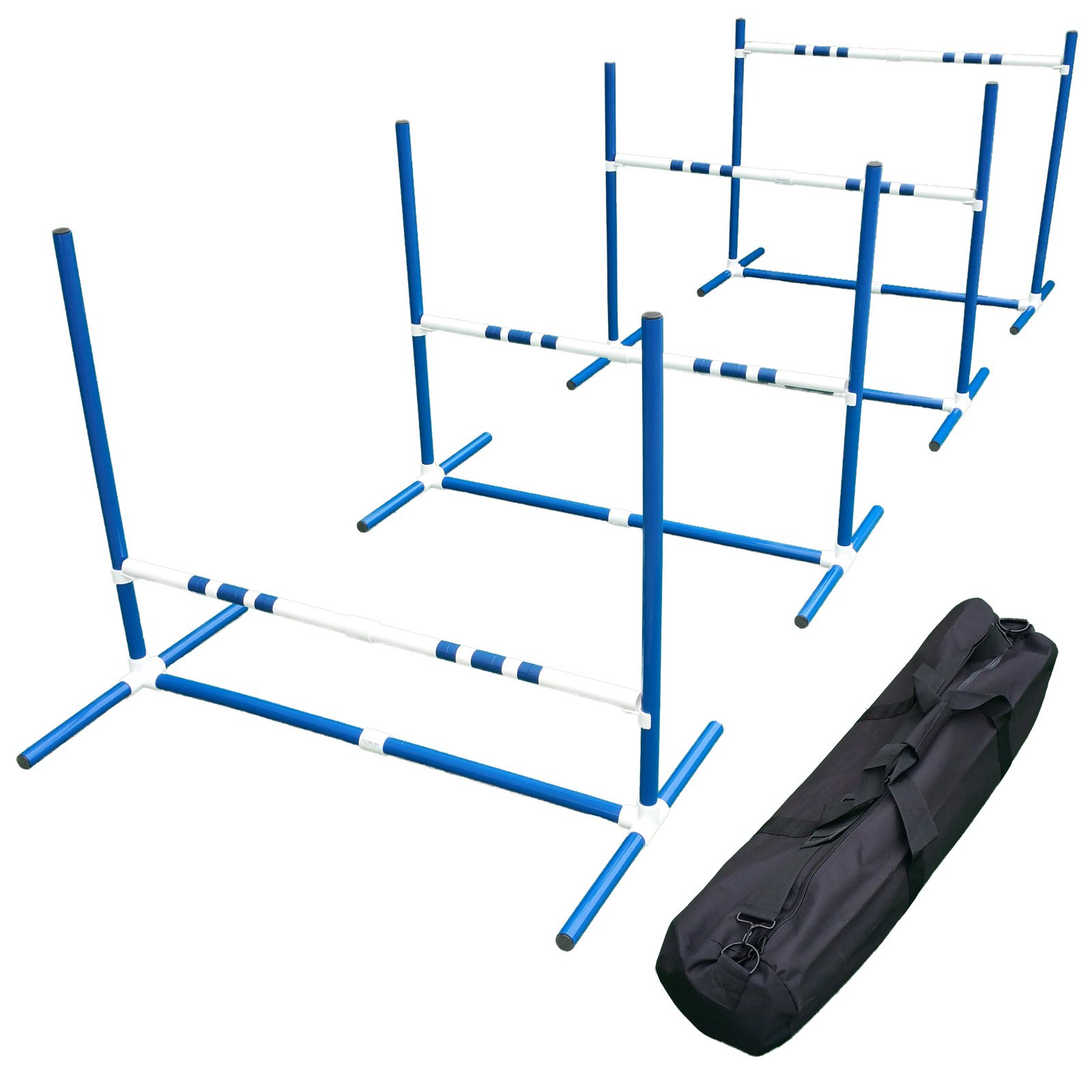 Affordable Agility Blue Travel Jump Set by Affordable Agility