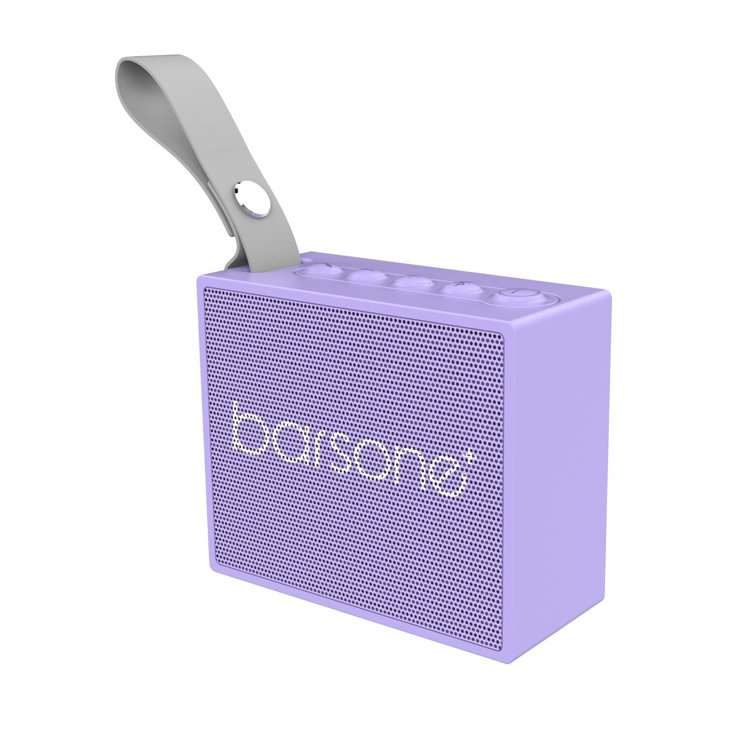 Speakers Wireless Bluetooth Barsone Outdoor Portable Speakers Enhanced Bass For PC Desktop Laptops TV Iphone (Purple)