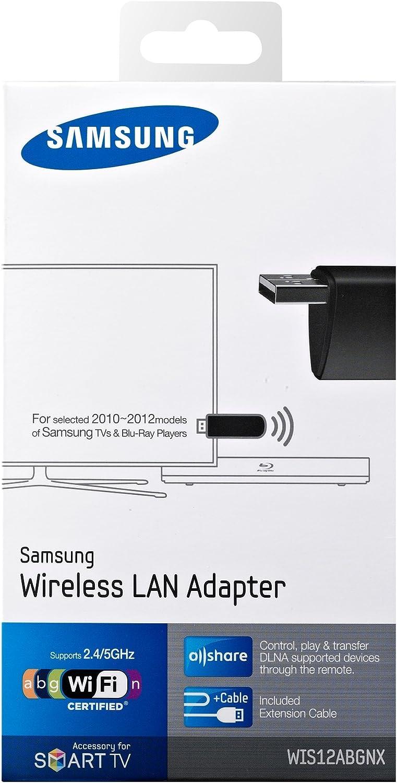 Samsung WIS12ABGNX - Adaptador de Red USB (WiFi), Negro: SAMSUNG: Amazon.es: Electrónica