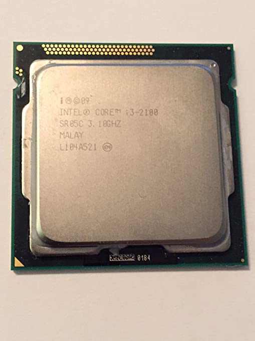 Intel Core i3-2100 3.10GHz 3MB Socket 1155 Desktop Computer CPU Processor SR05C