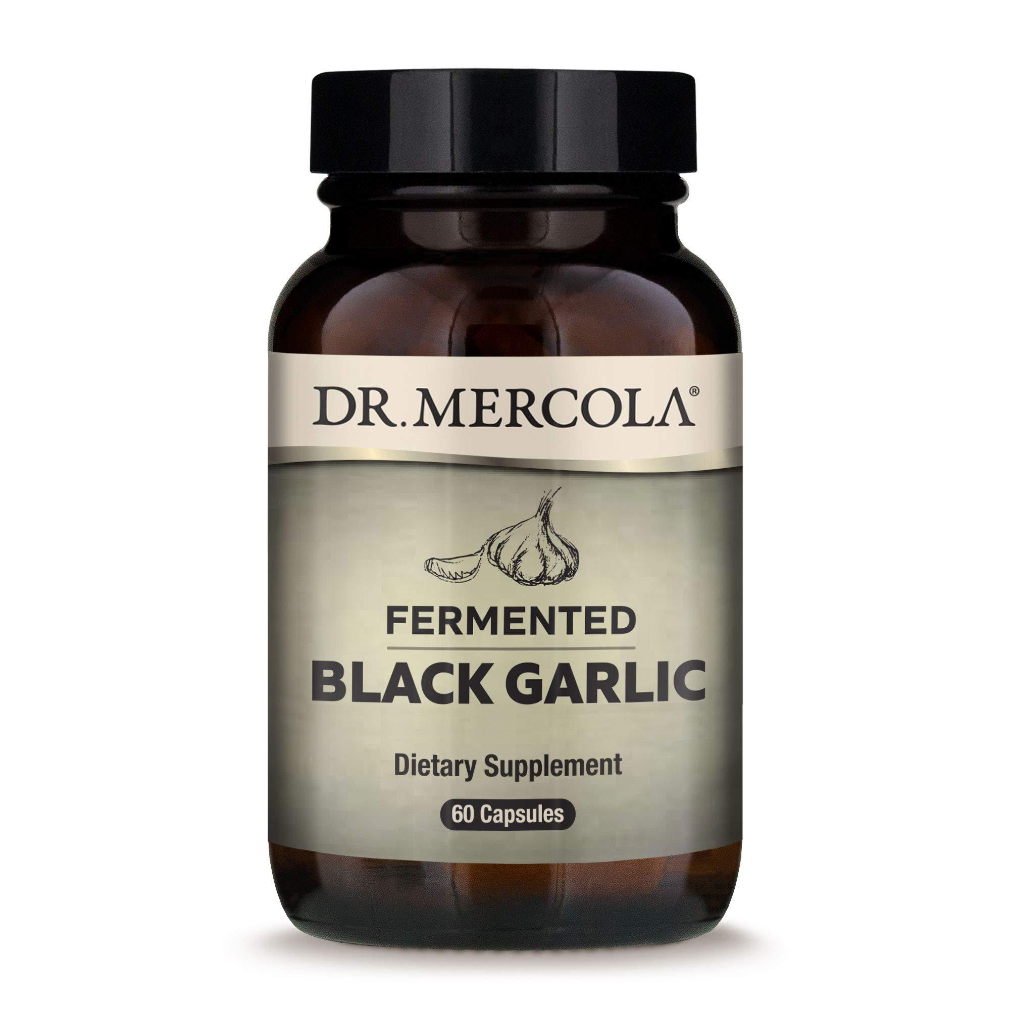 Dr. Mercola - Black Garlic, 30 Servings - (60 Capsules)