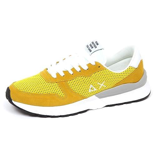 Uomo Sun Yellow Scarpe Man 68 Suedetissue Sneaker E8708 Shoe 435RALjq