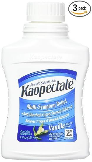 Sensational Kaopectate Multi Symptom Relief Anti Diarrheal Upset Stomach Reliever Liquid Vanilla 8 Oz Pack Of 3 Inzonedesignstudio Interior Chair Design Inzonedesignstudiocom
