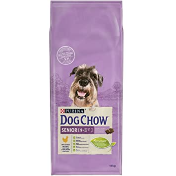 Purina Dog Chow Senior Pienso para Perro Adulto +9 Pollo - 14 Kg
