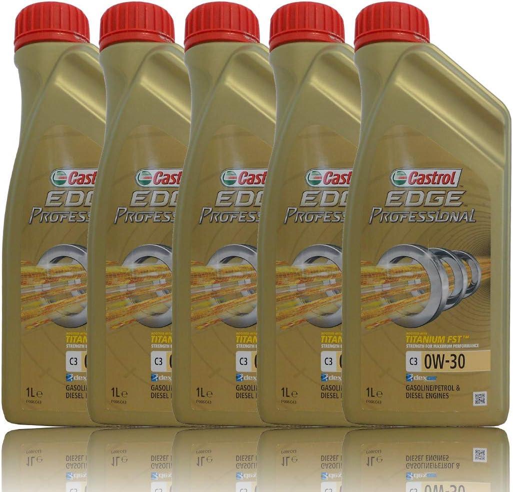Castrol Edge 0w 30 C3 Vollsynthetisches Motorenöl 229 51 505 00 Ll04 5 Lite Auto