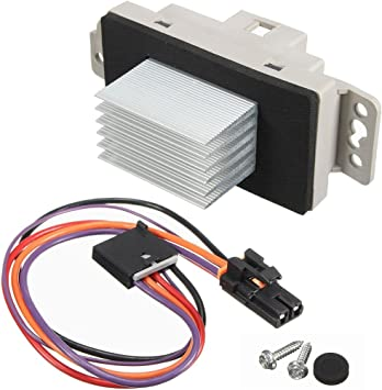 For Chevrolet Silverado 1500 HVAC Blower Motor Resistor Kit Dorman 37986XY