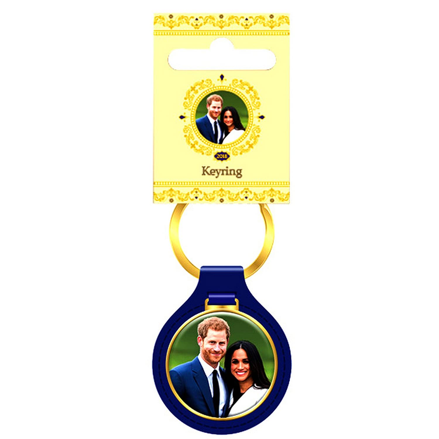 Harry And Meghan Key Ring