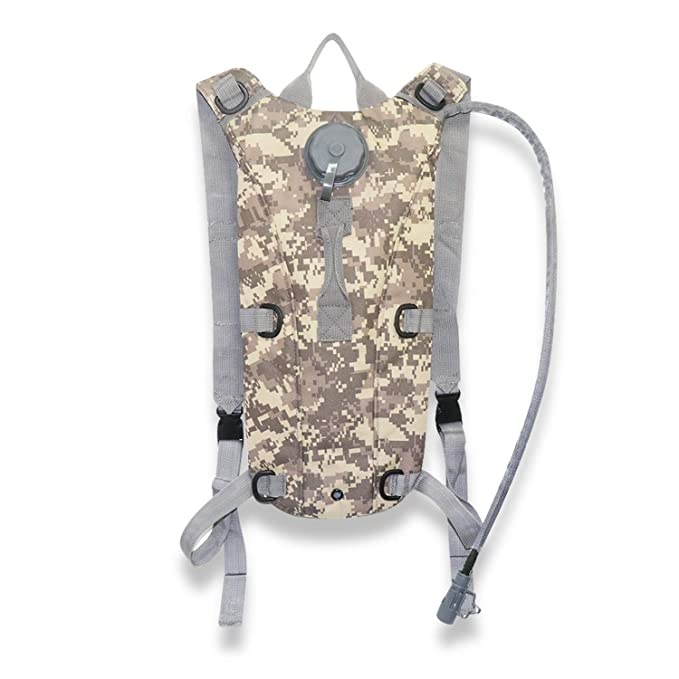 Amazon.com: Echoss Hydration Pack Water Backpack Camel Pouch Tactical Camouflage Bag with 3L Hydration Bladder Great for Hiking Hunting Running Climbing ...