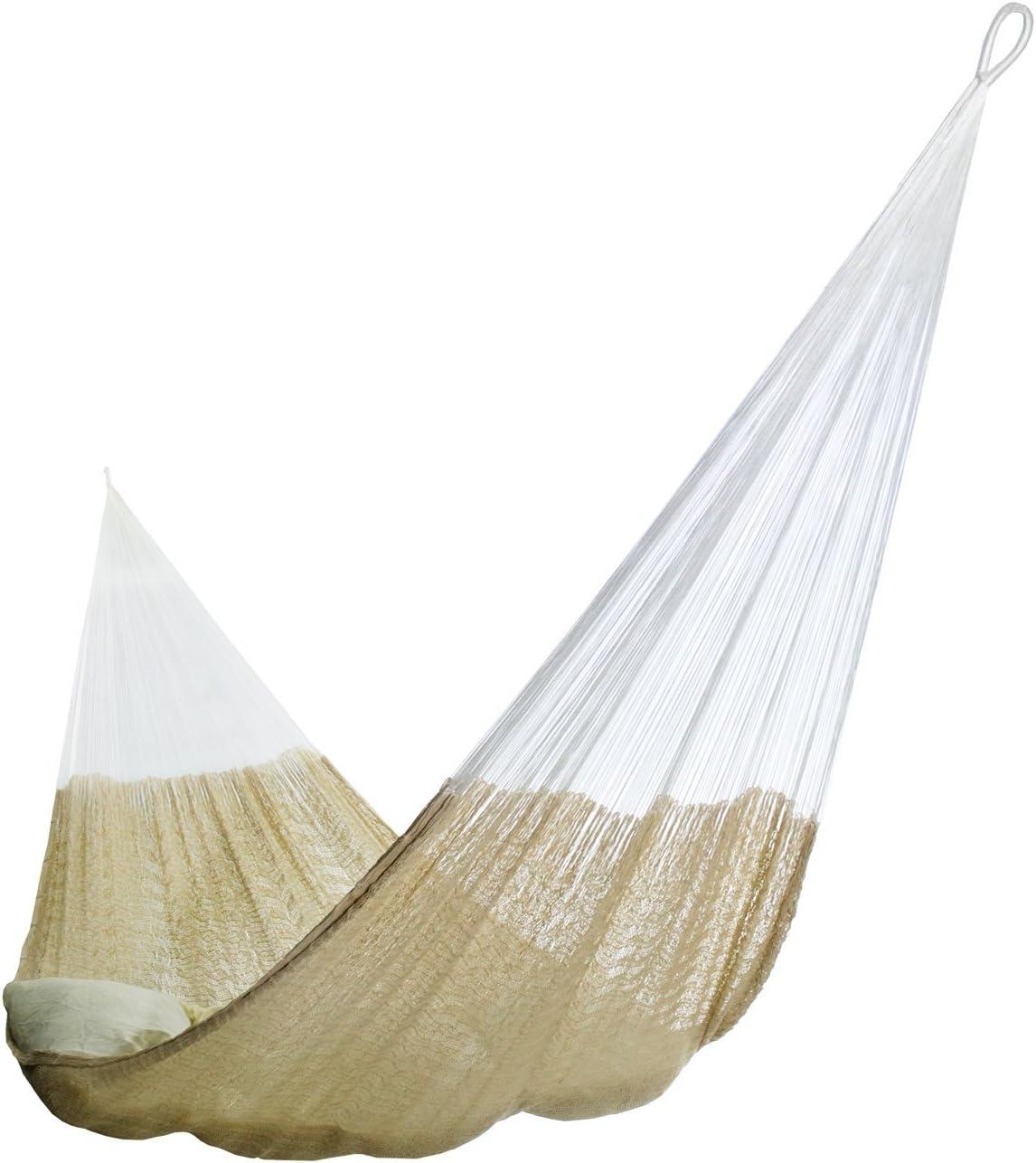 Hammocks Rada- Handmade Yucatan Hammock – Matrimonial Size Natural Color – 13ft Long Artisan Crafted