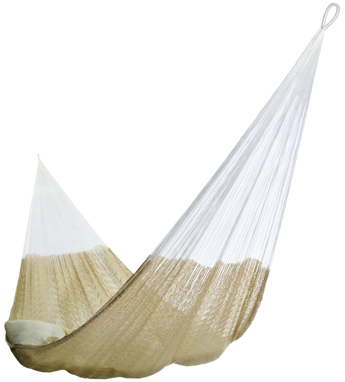 HAMMOCKS RADA- Handmade Yucatan Hammock – Matrimonial Size Natural Color – 13ft Long Artisan Crafted
