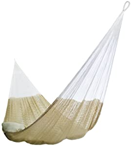 Hammocks Rada- Handmade Yucatan Hammock - Matrimonial Size Natural Color - 13ft long Artisan Crafted