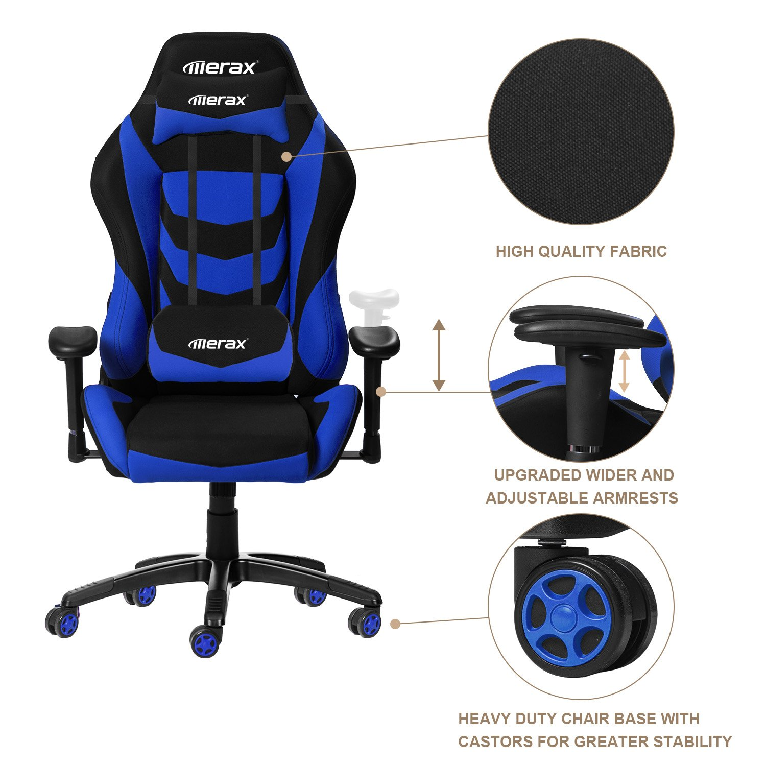 The 8 Best Blue Gaming Chair Picks 2017 ficeChairPicks