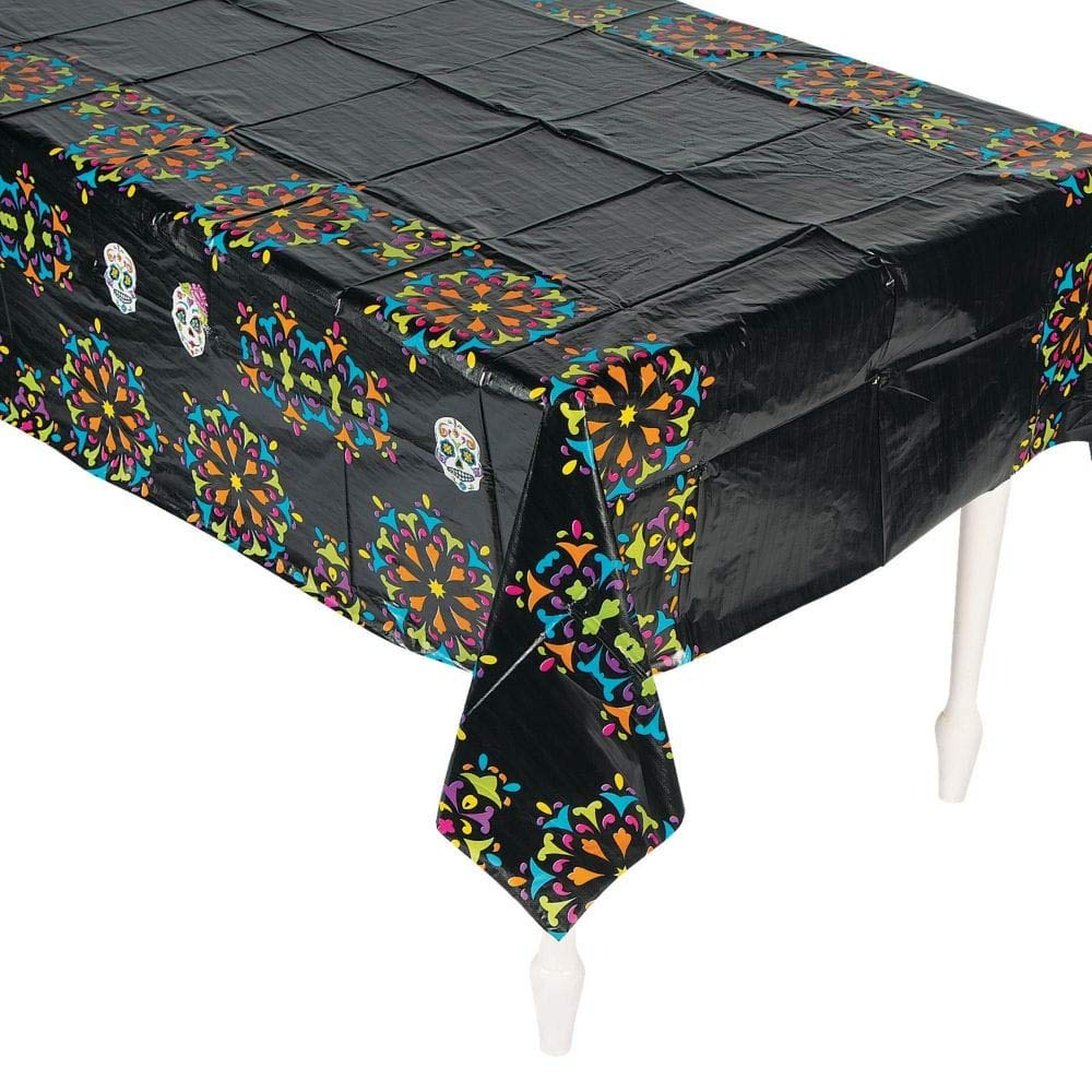 Day of the Dead Table Cover - Size: 54