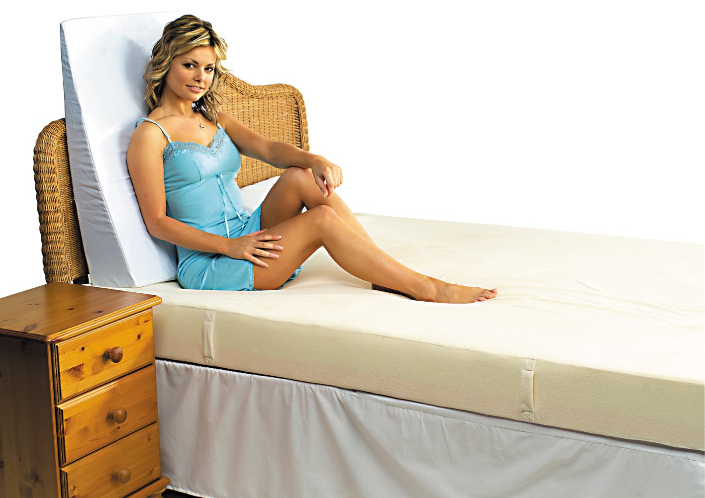 crates foam covers wedges zippered bed pillow products replacement amp egg wedge for essential
