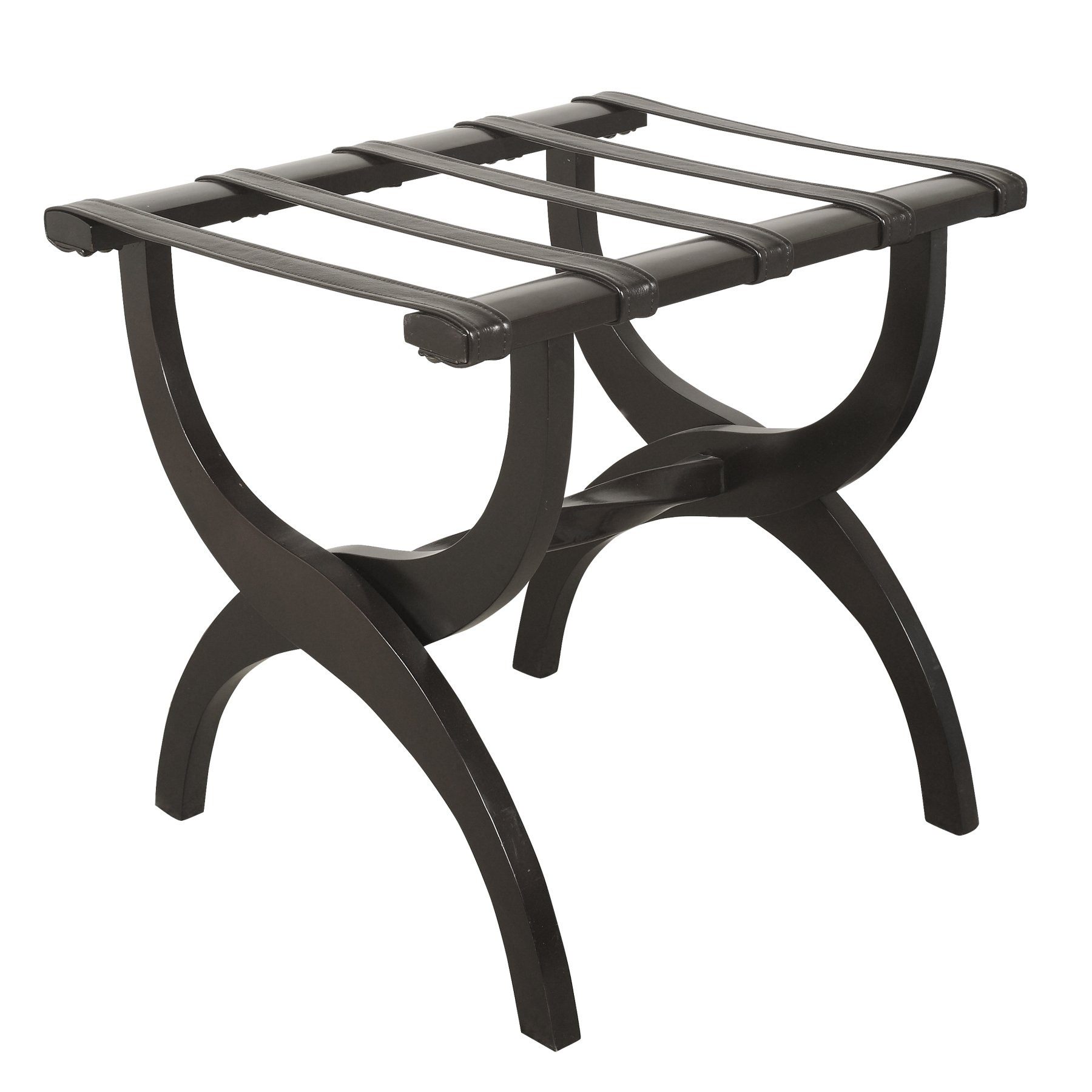 Ebony Luggage Rack by Welcome Home Accents