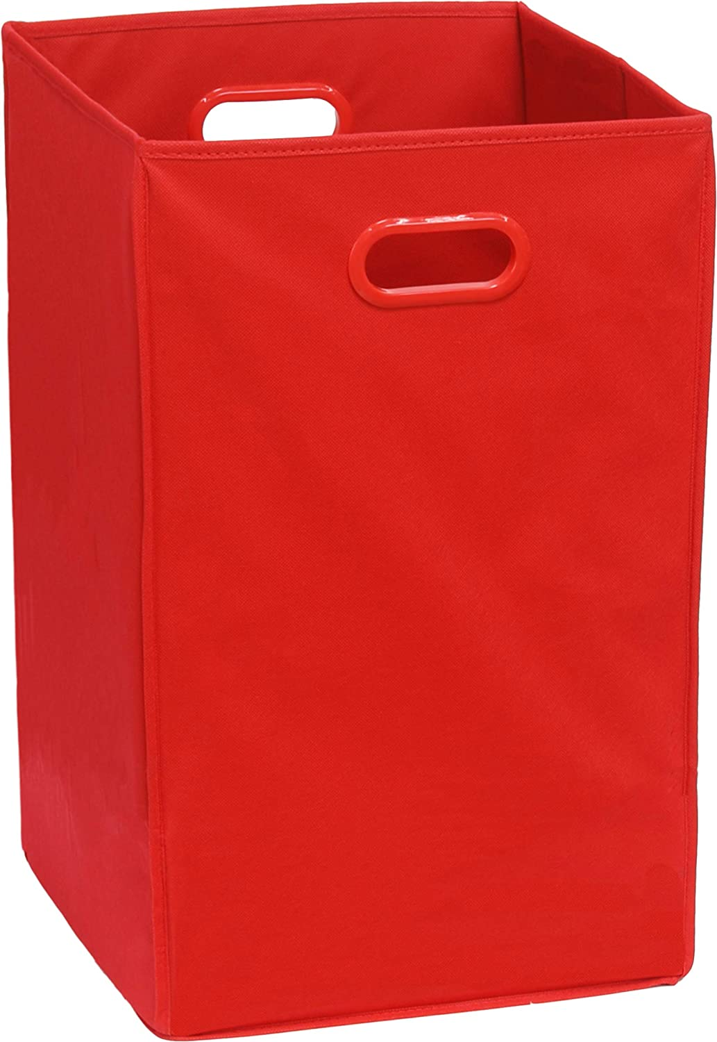 Simple Houseware Foldable Closet Laundry Hamper, Red