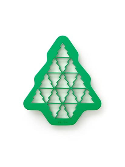 lekue christmas tree cookie cutter puzzle green