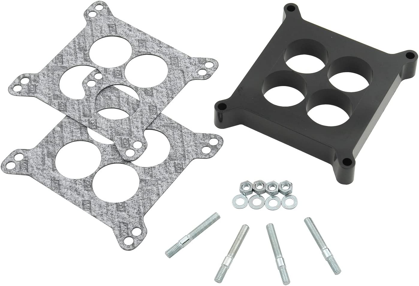 "ALL HOLLEY 3310 4 BARREL CARBURETORS TO INTAKE GASKET//INSULATOR 5//16/"" THICK-NEW"