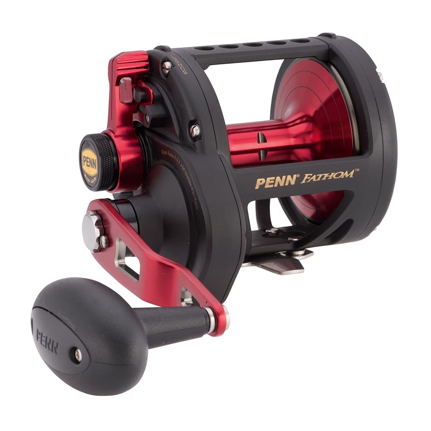 Fishing Reel Penn Fathom 30 Lever Drag 2 Speed Left Hand