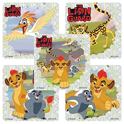 amazon com lion guard stickers prizes and giveaways 75 per pack