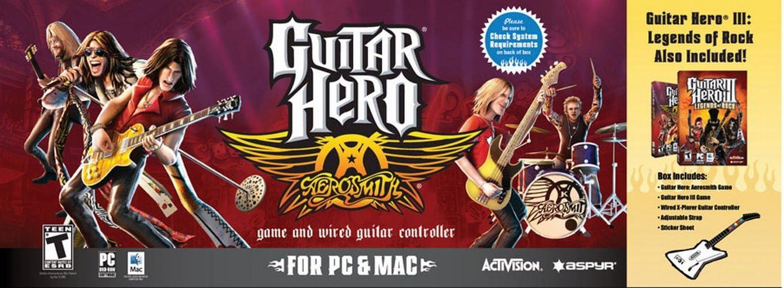 Aspyr Guitar Hero III: Legends Of Rock con Guitarra y Guitar Hero ...