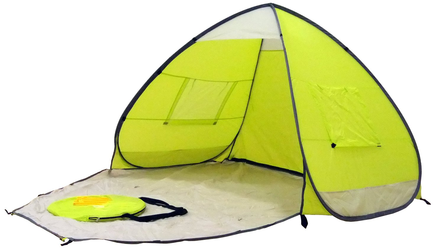 Amazon.com  Genji Sports Speedway Instant Beach Tent and Changing Room Apple Green  Family Tents  Sports u0026 Outdoors  sc 1 st  Amazon.com & Amazon.com : Genji Sports Speedway Instant Beach Tent and Changing ...