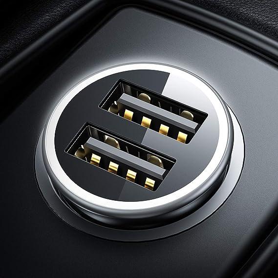Divi Zigarettenanzünder Usb Ladegerät Metall Mini Auto Elektronik