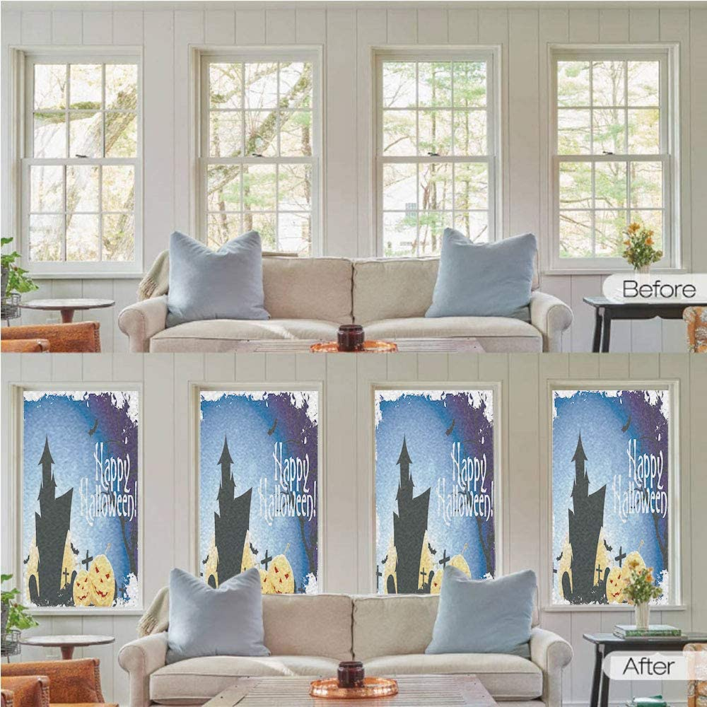 24x24 5-Pack Credit Cards Accepted Victorian Gothic Window Cling CGSignLab