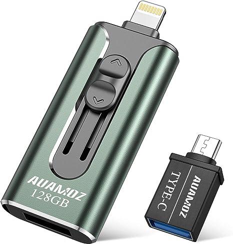 Idiskk Usb 3.0 128Gb Iphone Flash Drive For Iphone X Xr Xs Max Photo Stick For I