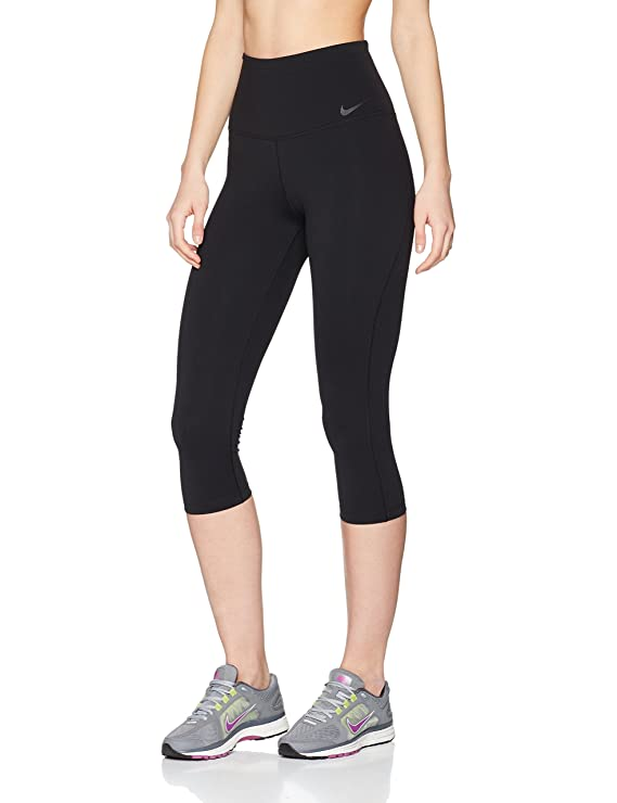 0269fb2151525 Amazon.com: Nike Power Legendary High Rise Training Capri Black/Black  Women's Capri: Sports & Outdoors